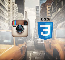Instagram Filters in CSS3