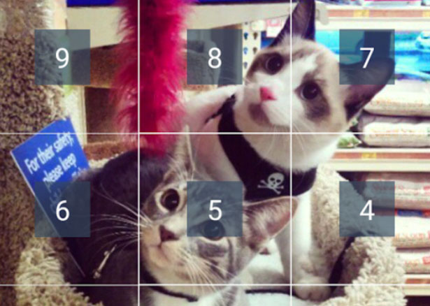 How to split photos into grid for Instagram